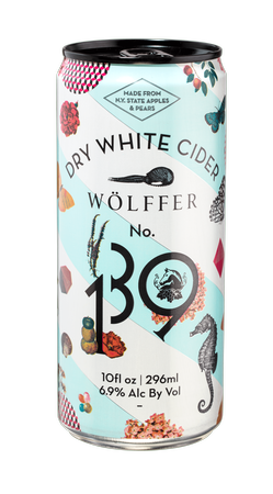 Wolffer No.139 Dry White Cider (case of 24 cans)
