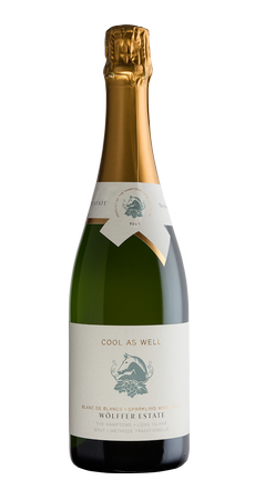 Cool as Well Brut Sparkling Blanc de Blanc 2013 Image