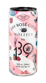 Wölffer No. 139 Dry Rosé Cider (case of 24 cans)