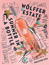 Summer in a Bottle Poster