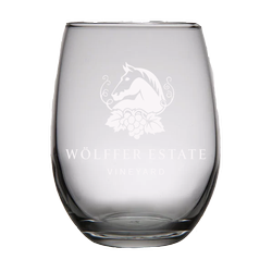 Wölffer Stemless Wine Glasses